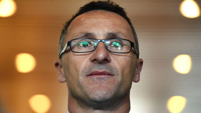 Greens leader Richard di Natale says Tony Abbott should be ashamed over the unions royal commission.
