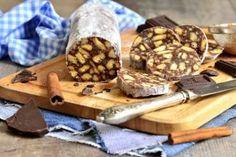 Schokoladen-Snickers-Salami Rezept