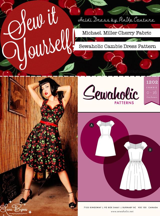 Sew It Yourself: Very Cherry | Lucky Lucille