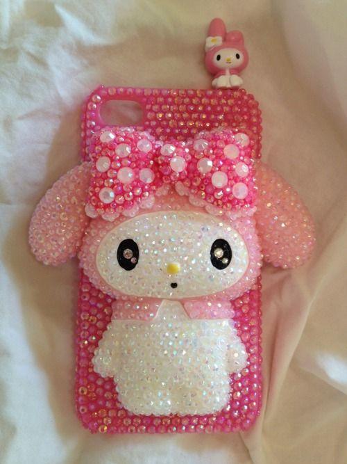 Pink Bunny Decoden