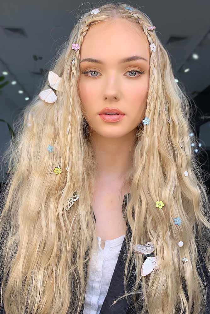 35 Trendy And Chic Crimped Hair Ideas To Copy Right Away Hair Styles Crimped Hair Braids For Long Hair