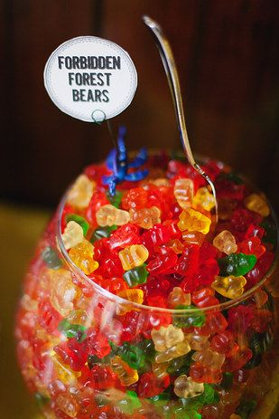 And a candy one, too: | 23 Brilliant Wedding Bars From Couples Who Dared To Dream