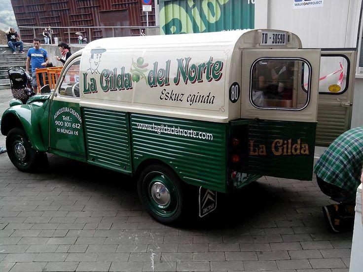 Citaron 2CV furgoneta. La Gilda del Norte.