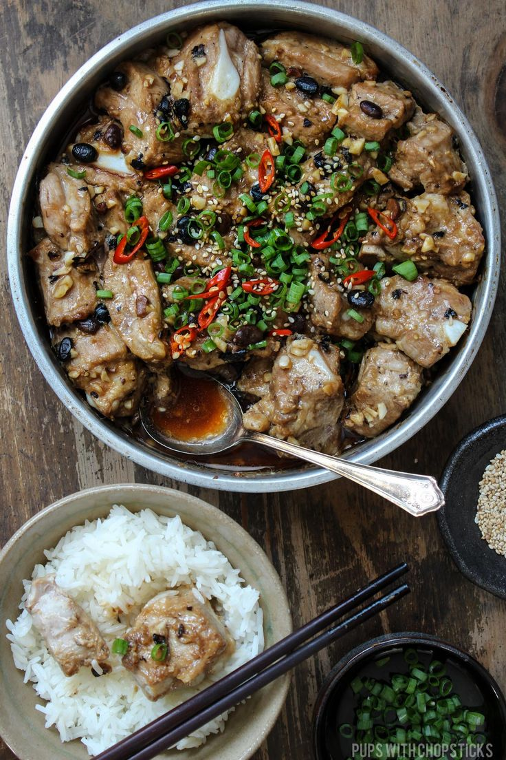 Chinese steamed pork ribs with fermented black beans is quick and easy to make and big on flavour - this no longer has to be a dim sum only dish!