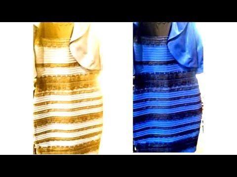 Vestito illusione blu e nero music