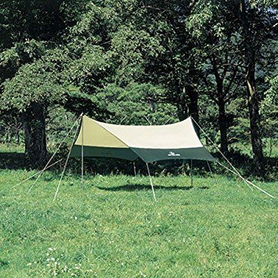 キャプテンスタッグ キャンプ用品 テント タープ サンシェード プレーナヘキサ タープ セットM-3155