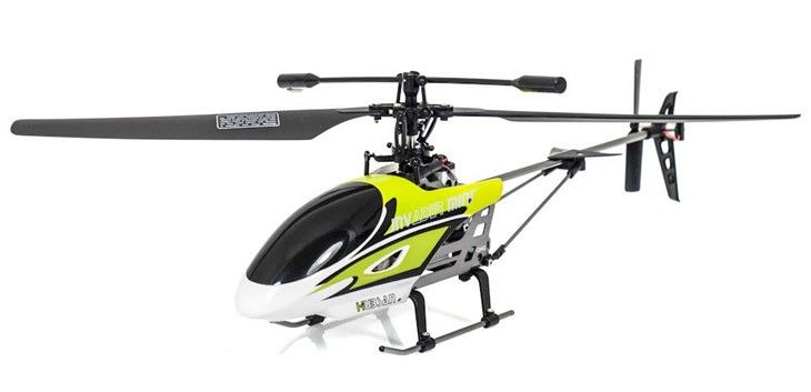 4CH Single Blade Invader Micro RC Helicopter - 2.4GHz - http://www.nitrotek.co.uk/241.html