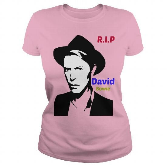 Cool David Bowie Fans Shirts & Tees