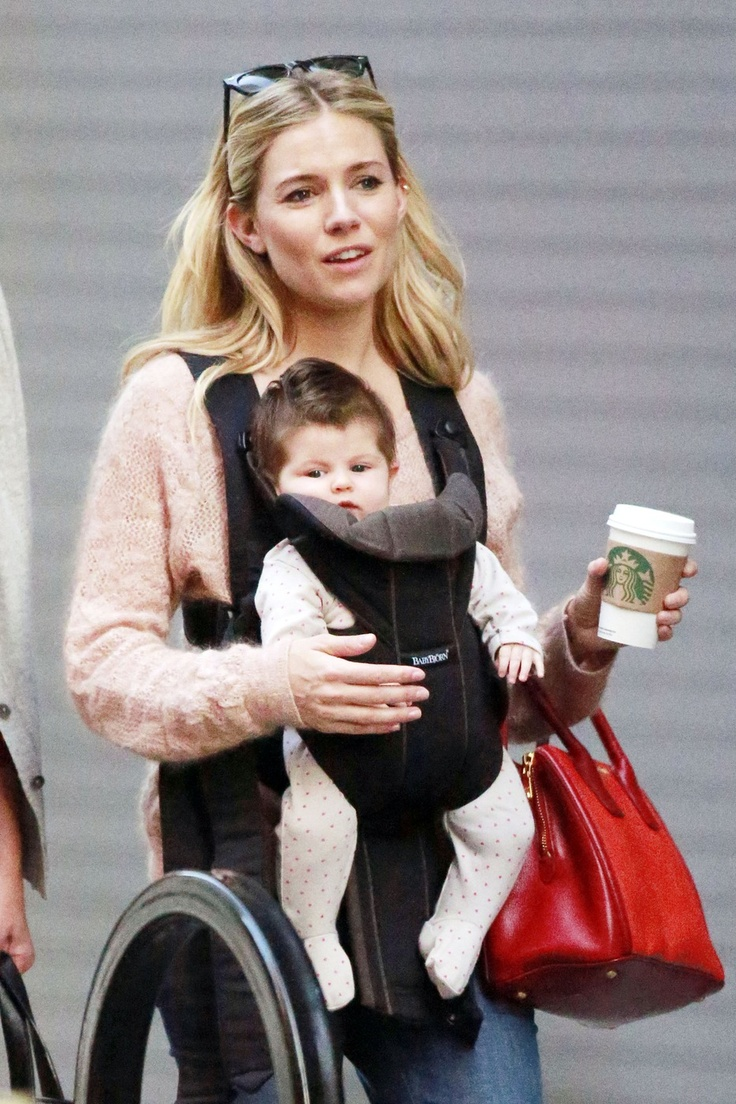 Sienna Miller Steps Out With Her Daughter Marlow And OMG Does She Have Hair! (Photos)