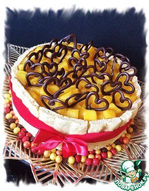 Манговый торт