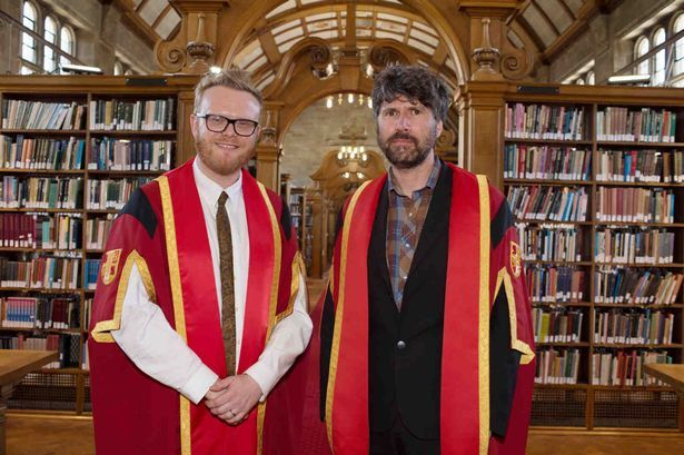 Super Furry Animals' Gruff Rhys and Radio 1 DJ Huw Stephens among those receiving Honorary Fellowships at Bangor University - Wales Online