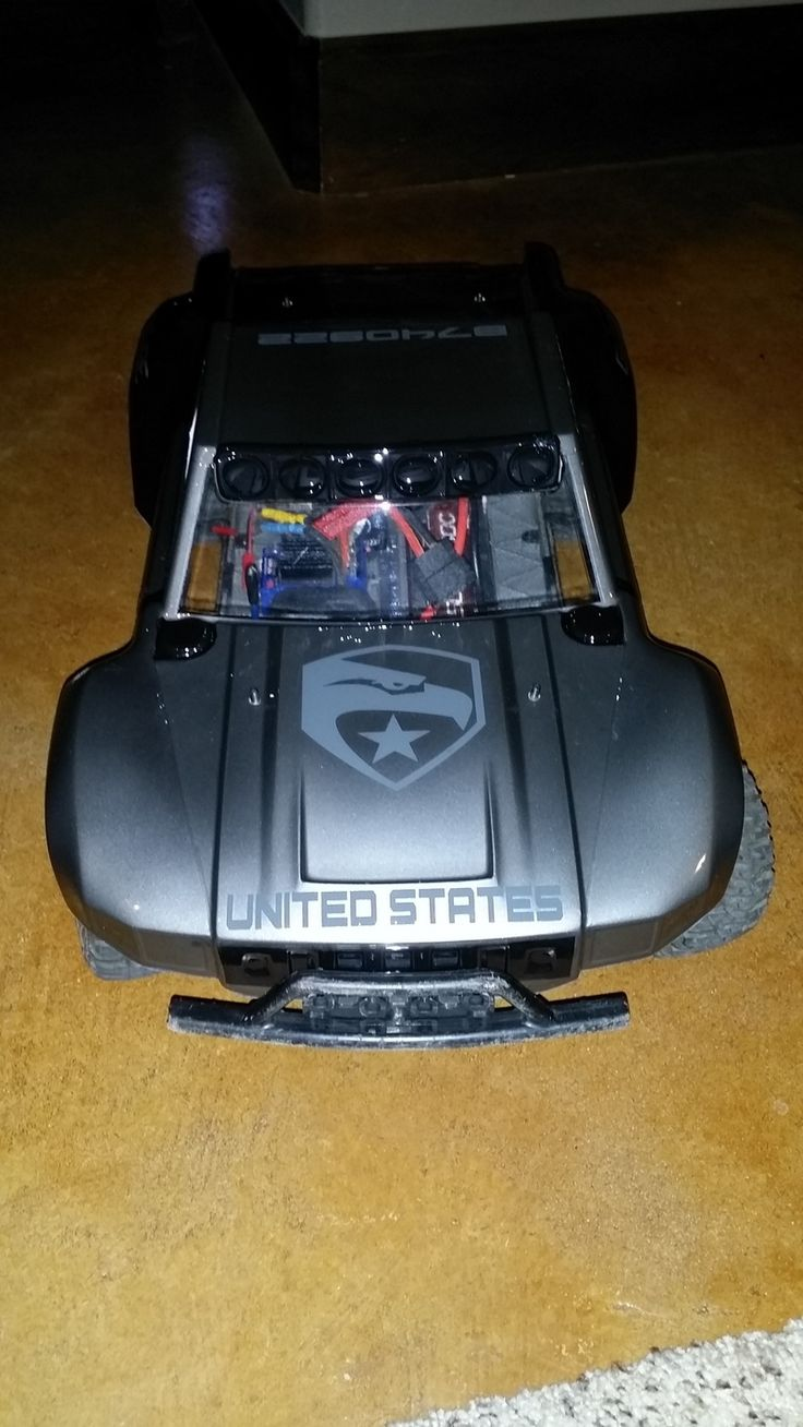 My Traxxas Slash 4x4 with Proline Desert Militia body...Yo Joe!