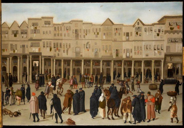 Dois quadros descobertos em 2009 originaram um livro sobre Lisboa quinhentista e a Rua Nova dos Mercadores. Naquela artéria confluíam produtos do império e gentes de todo o mundo, transformando a capital portuguesa numa cidade global.