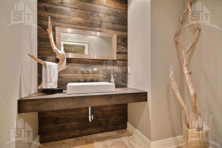 Table de banquette avec bois de grange recherche google for Banquette salle de bain