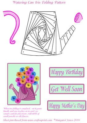 Watering Can Iris Folding Pattern on Craftsuprint - Add To Basket!  http://www.craftsuprint.com/card-making/iris-folding-patterns/birthday/watering-can-iris-folding-pattern.cfm?addtobasket&r=637582