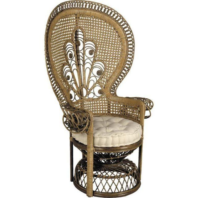 1000 images about peacock chair rattan wicker fauteuil emmanuelle on pinterest. Black Bedroom Furniture Sets. Home Design Ideas