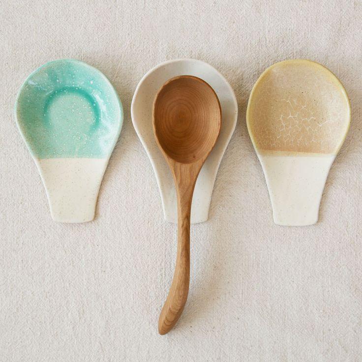 Ceramic Spoon Rest - shop-generalstore.com