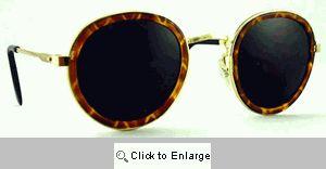 LP Round Metal Sunglasses - 459T Tortoise