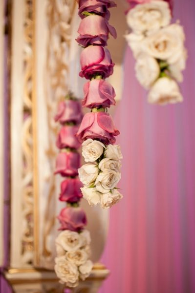 indian fusion wedding florals decor photos - Google Search