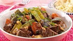 Tajine van Lam recept volgens Noord-Afrikaanse traditie voor 4 personen. Klaar in slechts 60 minuten. Ontdek dit heerlijke recept nu!