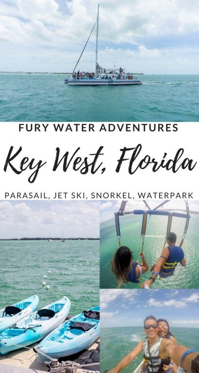 Key West Water Adventures with FURY! Parasailing, Jet Skiing, Snorkeling and many more activities! - Key West Travel Tips, Key West Things to do | Wanderlustyle.com