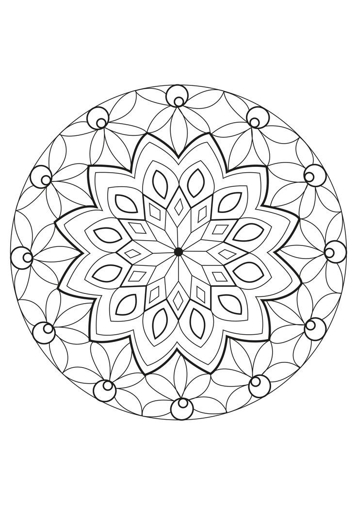 find this pin and more on free mandalas to colour - Design Pictures To Color
