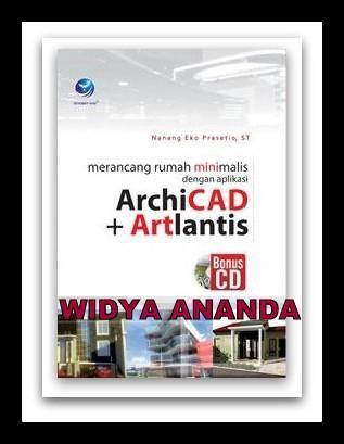 Merancang Rumah Minimalis dengan Aplikasi ArchiCAD+Artlantis (+CD)  ISBN: 978-979-29-3169-3 Penulis: Nanang Eko Prasetio, S.T. UkuranHalaman: 16x23 cm  x+278 halaman EdisiCetakan: I, 1st Published Tahun Terbit: 2012 Berat: 375 gram Harga: Rp 72.000,-     Sinopsis Apakah Anda kesulitan dalam mendesain rumah tinggal yang Anda inginkan? Sekarang Anda dapat mendesain rumah tinggal dengan menggunakan aplikasi Archicad dan Artlantis. Dua perpaduan program aplikasi Archicad dan Artlantis akan…