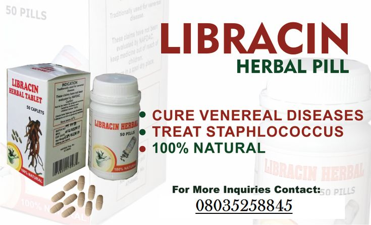 Several complications can arise as a result of untreated venereal diseases or infection.  Treat venereal diseases like Staphylococcus, candida, gonorrhea, syphilis, chlamydia and lots more with Libracin Herbal Tablets. Libracin Herbal Tablet is an excellent product that cures this infections permanently and gives you a healthy body suitable for a healthy life.