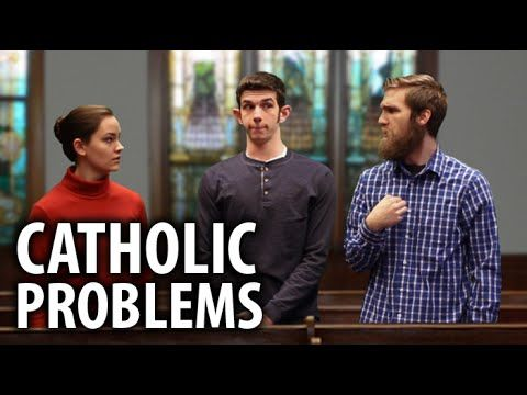 """That moment when you find a """"Catholic Problems"""" video and three seconds in you realize this one was filmed at your school. Just like every """"Catholic Problems"""" video ever. No but really this is a pretty good one. Enjoy :)"""