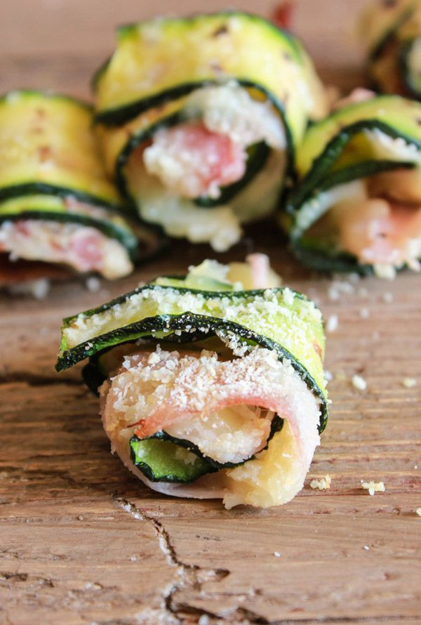 Bite Size Grilled Zucchini Roll-ups are the perfect appetizers, a fast, easy and delicious recipe. Great for summer entertaining. You won't be able to stop at one! /anitalianinmykitchen.com