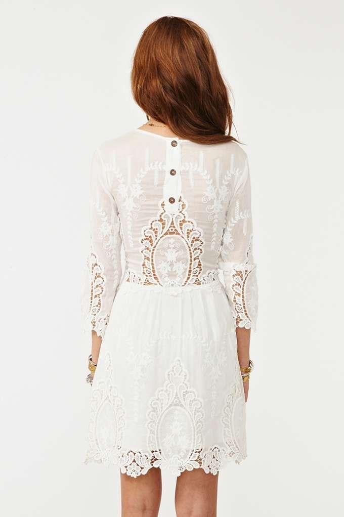 Valentina Crochet Dress | Shop Dresses at Nasty Gal