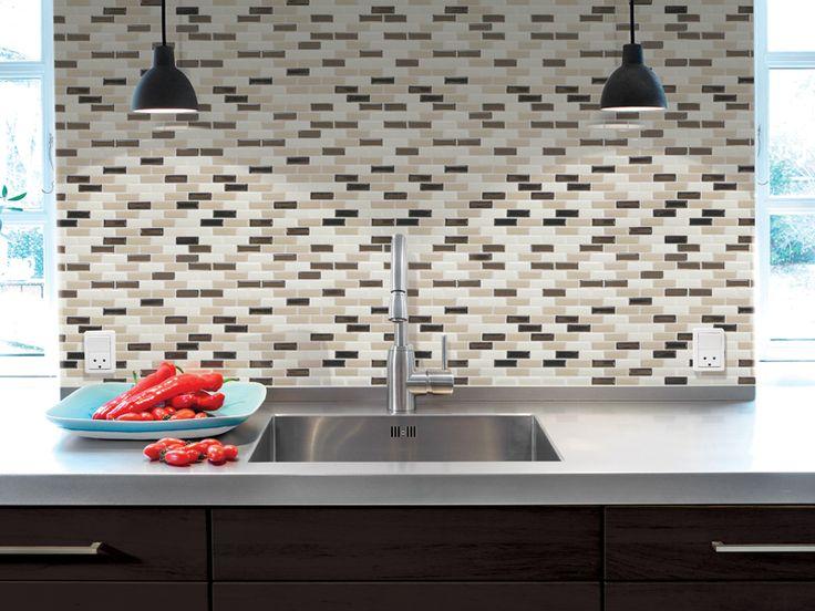 Smart Tiles Mosaik Peel And Stick Murano Dune Decorative Wall Tile  Backsplash Brings Distinctive Look To Your Bath Or Kitchen Decor.