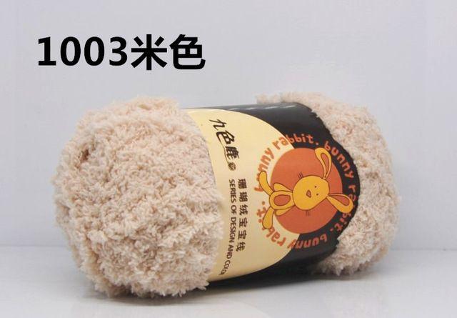 50g/Bola de Coral Polar Bebé Suéter Sombrero de la Bufanda de Hilo de Punto De Hilo Para Tejer a mano 5mm Aguja