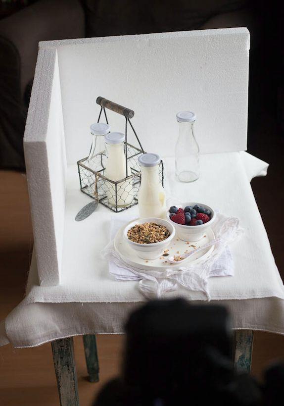 Fotografare il cibo: 5 trucchi low-cost per il set migliore