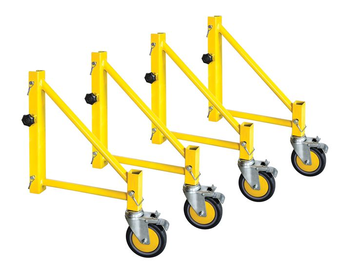 Jobsite Series Steel Perry Style Scaffold Outriggers