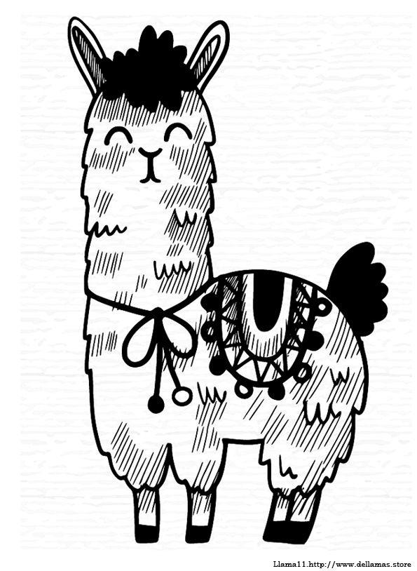 Dibujos De Llamas Para Colorear Y Alpacas Dibujos De Llamas Dibujos Alpacas