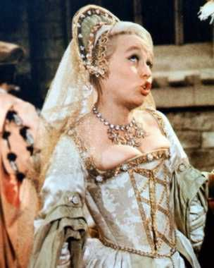 Barbara Windsor as Bettina in Carry On Henry.
