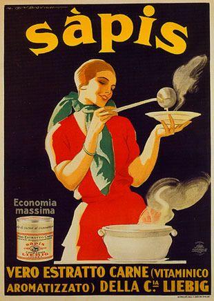 Sapis, vero estratto di carne , C.ia  Liebig 1922