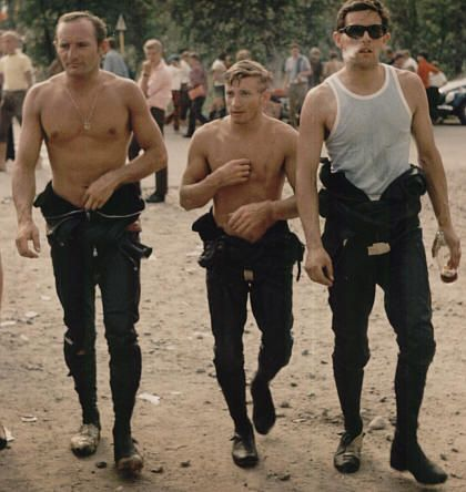 Mike Hailwood, Bill Ivy and Phil Read