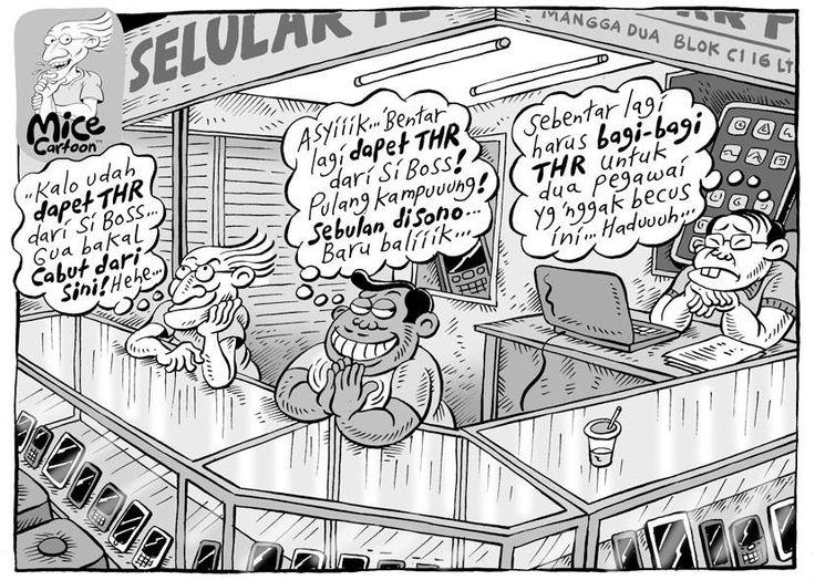 Mice Cartoon, Kompas 28 Juli 2013: THR!