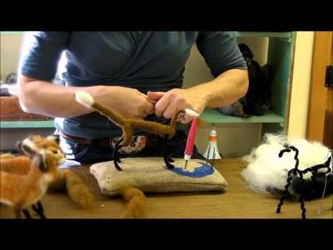 How To Needle Felt Animals - Fox Series 3: Neck, Head and Legs