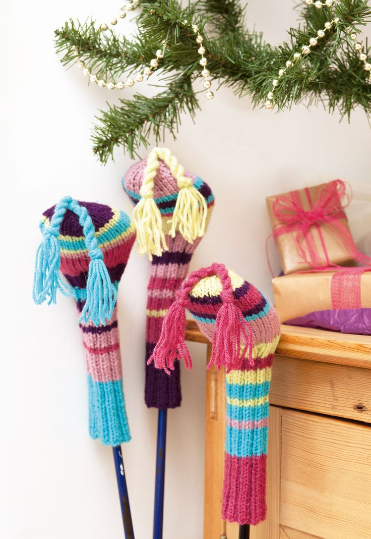 41 best Golf clubs images on Pinterest | Knitting patterns, Knitting ...
