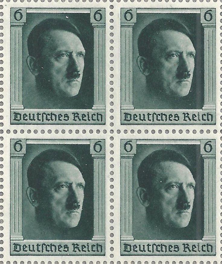 Deutsches Reich,1937 Geburtstag Hitler Michelnummer: 646 ...