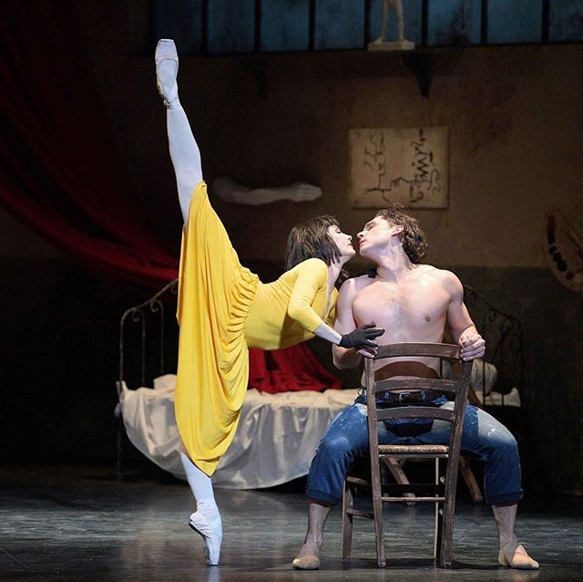 Cant wait! Always wanted to see Le Jeune Homme et la Mort choreographed by Roland Petit and famously danced by Nureyev and Zizi Jeanmaire and later by Baryshnikov. This performance is by @englishnationalballet at the Coliseum danced by Tamara Rojo and Ivan Vasiliev #ballet #balletlover #alexb244 #modernballet #beautifuldancers #englishnationalballet