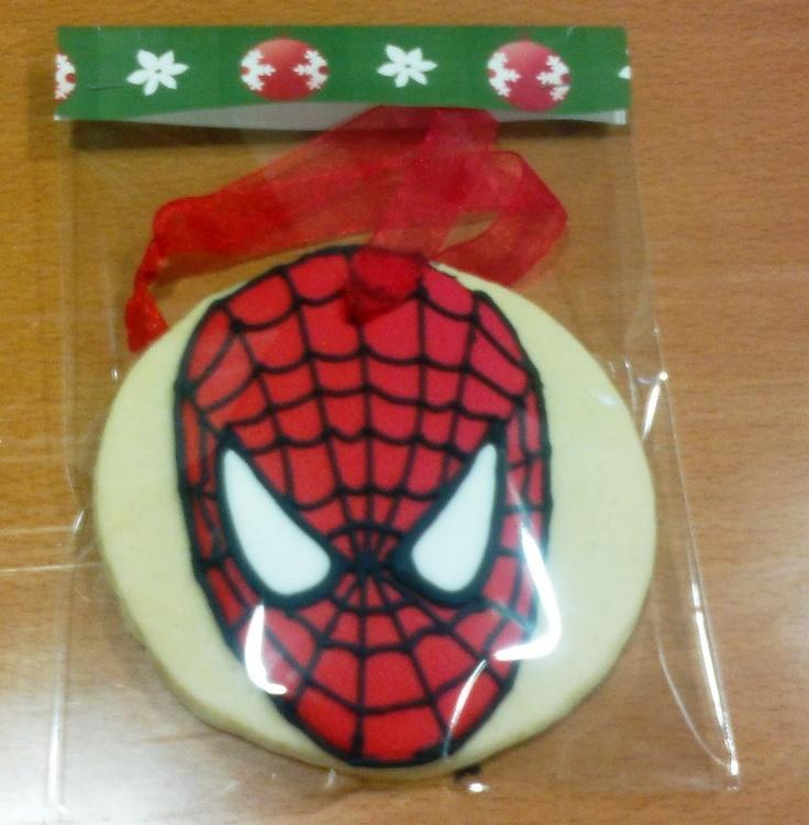 Galleta Spiderman / Spiderman cookie