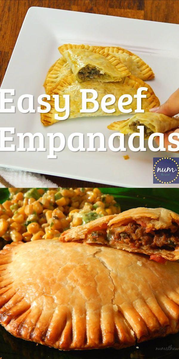 Empanadas fáciles de carne de res – Recetas de carne de res y cordero – #Beef #Easy #Empanadas #Lamb #Reci …  – Torten Rezepte