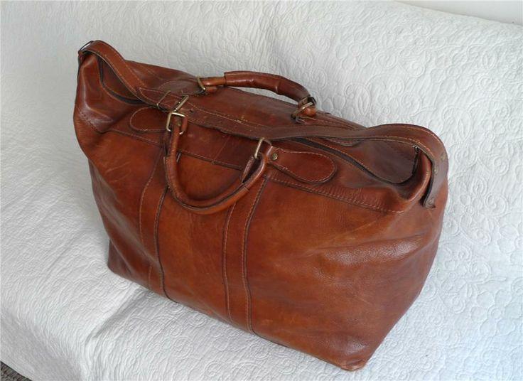 Weekend bag i skinn på Tradera.com - Resväskor | Väskor | Accessoarer
