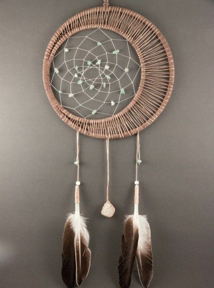 ▷1001 + Ideas for DIY Dreamcatcher Tutorials and 70 Lovely Photos