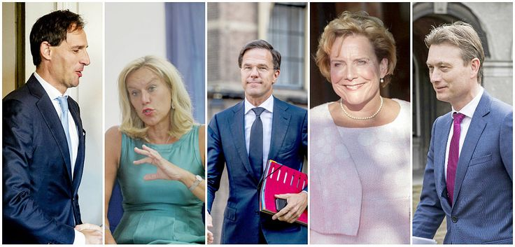 Meet the Dutch government's major players