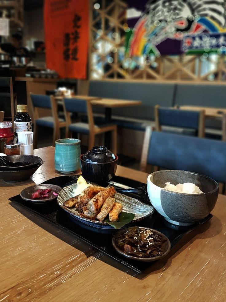 """""""Salmon Kunsei Yaki Set"""", Hokkaido Izakaya, Jakarta"""